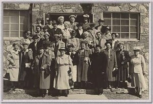 Ladies of First Assembly - circa 1945