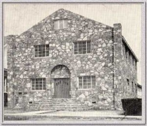 Old Rock Church - circa 1920