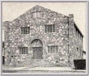 Old Rock Church - circa 1920