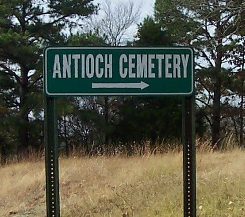 Antioch Cemetery, Hatfield, Arkansas