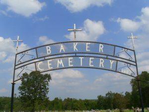 Baker Cemetery, Wickes, Arkansas