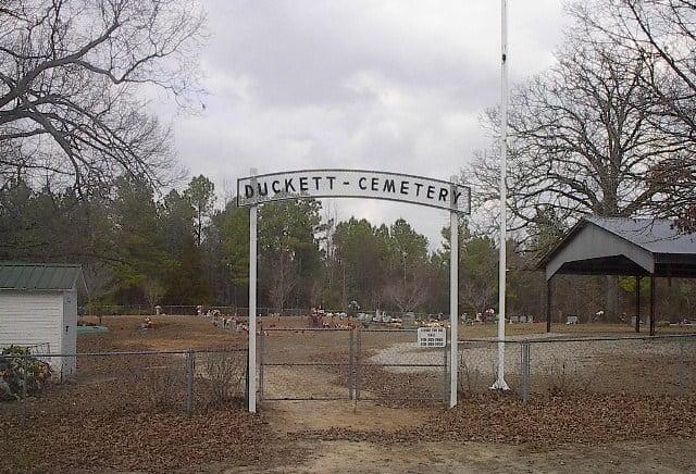 Duckett Cemetery, Wickes, Arkansas