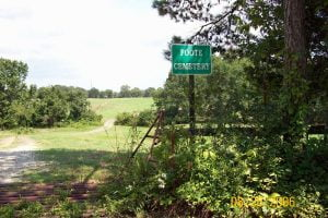 Foote Cemetery, Cove, Arkansas