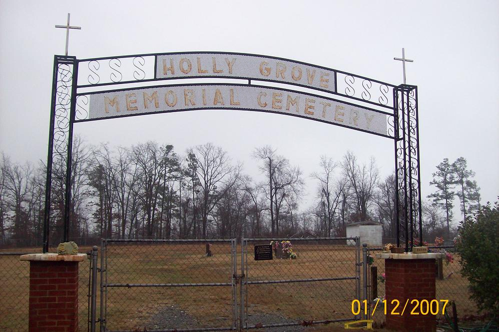 Holly Grove Cemetery, Grannis, Arkansas