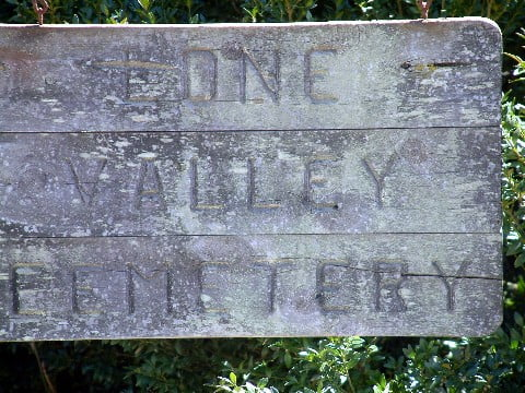 Lone Valley Cemetery, Hatfield, Arkansas