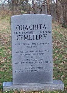 Ouachita Cemetery, Opal, Arkansas