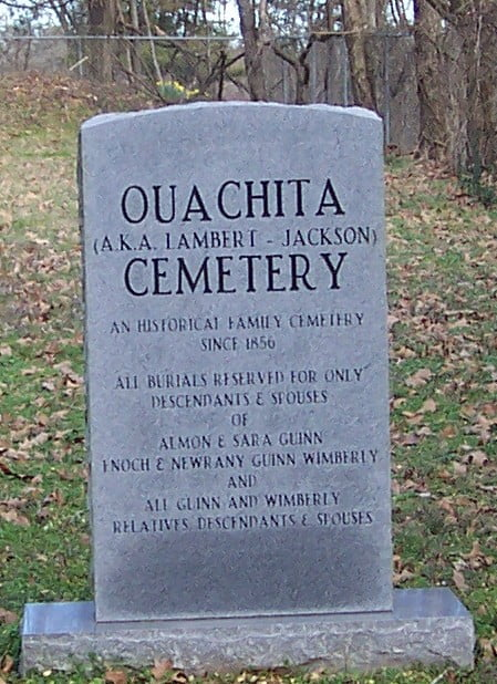 Ouachita Cemetery, Opal, Arkansas
