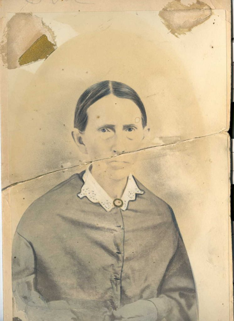 Believed to be a photo of Rebecca Jane (Cathey) Deaver