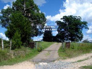 Mineral Cemetery, Polk County, Arkansas